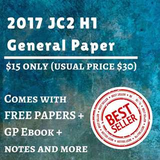 🚚 General Paper Prelims 2017 (A Level) Exam Papers , past year papers , test papers
