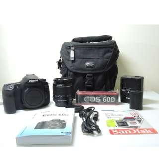 Canon EOS 60D (Body +Lens)
