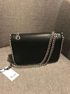 Bardot Black Shoulder Bag