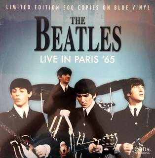 The Beatles Blue Vinyl 500 Limited Edition (sealed)