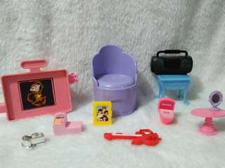Barbie furniture etc all orig