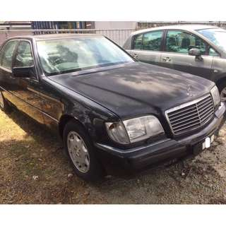1993/96 Mercedes Benz 300SE 3.2 Auto No Plate 1111 !!!!