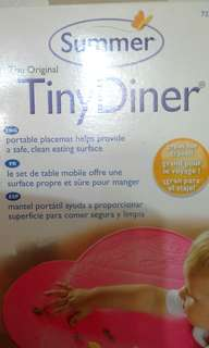 Placemat for BLW, the TinyDiner