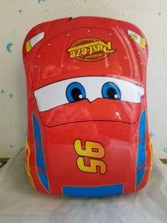 Tas ransel anak laki laki cowok karakter cars macqueen merah bagus awet