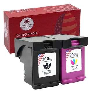 780. Toner Kingdom 2 Pack Compatible HP 300XL Ink Cartridges For HP Envy 100 110 120 114 Deskjet F4580 F4500 F4280 F4272 F2480 F2420 D1660 D2560 D2660 D5560 Photosmart C4780 C4670 C4680 C4600 C4700