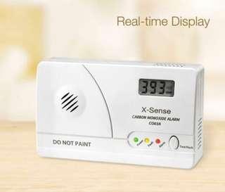 (163) X-Sense CO03A Battery-Operated Home Carbon Monoxide Alarm (CO03A)
