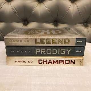 Legend, Prodigy, Champion by Marie Lu