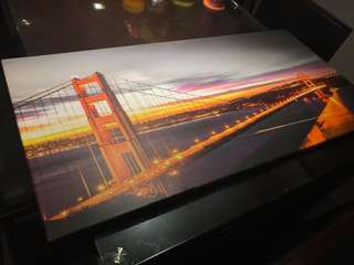 Canvas Print: San Francisco Bridge