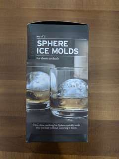 Tovolo Sphere Ice Molds (BNIB)