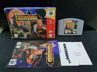 Nintendo N64 Castlevania (CIB/Used Game)