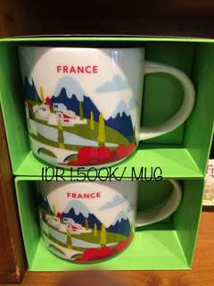 Mug from Starbucks Coffee Marseille - French
