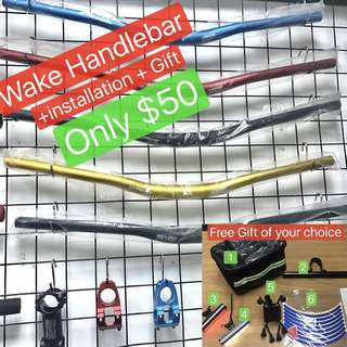 Wake Handlebar for Electric scooter
