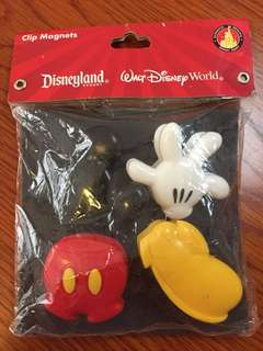 Disneyland Resort Magnet Clips