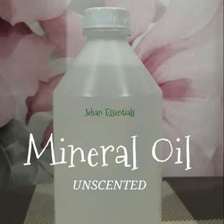 Mineral Oil, Massage oil Unscented 500ml