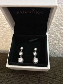 Pandora Inspired Earrings (92.5 Silver)