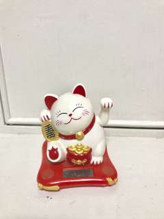 Taiwan famous 金石工坊 Fortune Cats