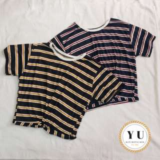 Knot tee stripes