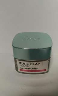 reprice!!l'oreal pure clay mask antipores