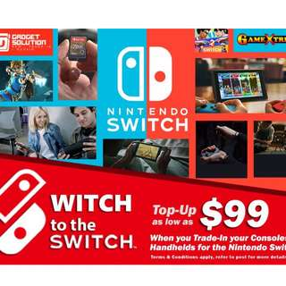 Nintendo Switch Trade-in Deal~!