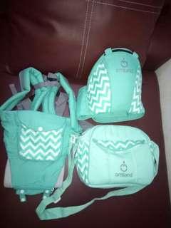 omiland hipseat #diaper bag