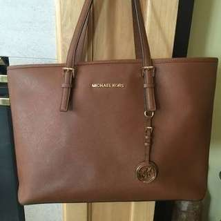 Repriced: Michael Kors Jet Set Travel Saffiano Leather Tote bag