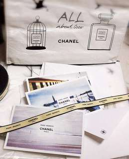 Chanel postcard