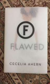 Preloved Book; Flawed by Cecelia Ahern