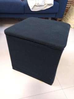 搬家拍賣…布面收納椅