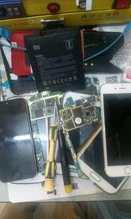 Mobile phones service and repair