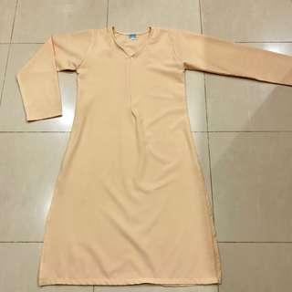 Long split blouse KM