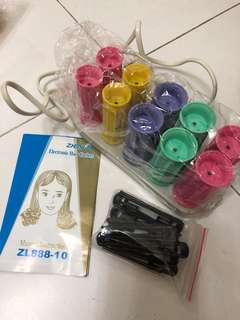 Electronic Hair Curlers