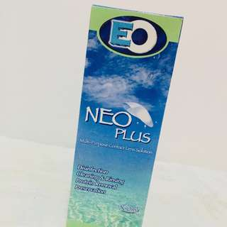 Neo plus contact lens solution