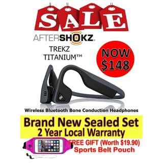 Aftershokz Trekz Titanium (2year local warranty)