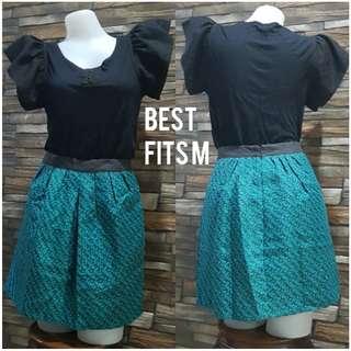 Mossimo Green Skirt