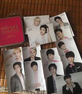 Super Junior post card (smart exhibition )