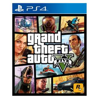 [Pre-owned] PS4 Grand Theft Auto V / GTA 5 (Mint)