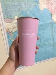 Starbucks pastel tumbler (pastel pink)