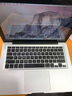 MacBook  pro a1278 13.3吋