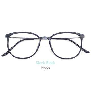 foptics Eyewear - Prescription Glasses - Eagle in Sleek Black