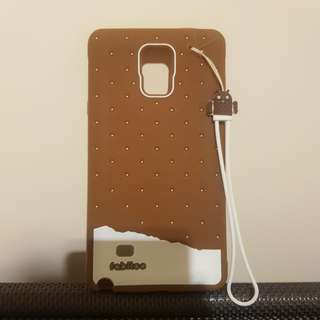Samsung Galaxy Note 4 Silicone Phone Case With Strap