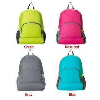 Foldable backpack / ransel lipat / ransel travelling