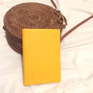 Mustard Passport Holder