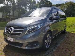 Mercedes Benz V220d Avantgard (2017)