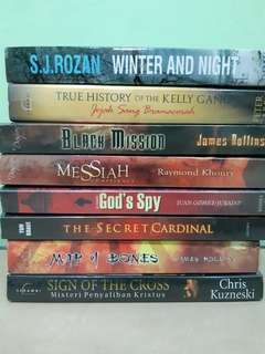Novel 20rb an per novel. Sale. Turun harga