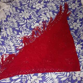 Triangular shawl / scarf