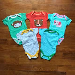 Carter Bodysuits (3 months)