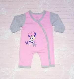 """Disney Baby"" Minnie Mouse Overall"