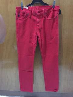 Abercrombie Red Pants