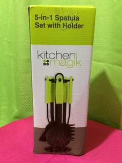 5-in-1 Spatula Set with Holder