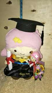Original Sanrio Little Twin Star X Chopper graduation